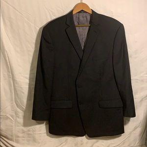 Calvin Klein 44R suit jacket black